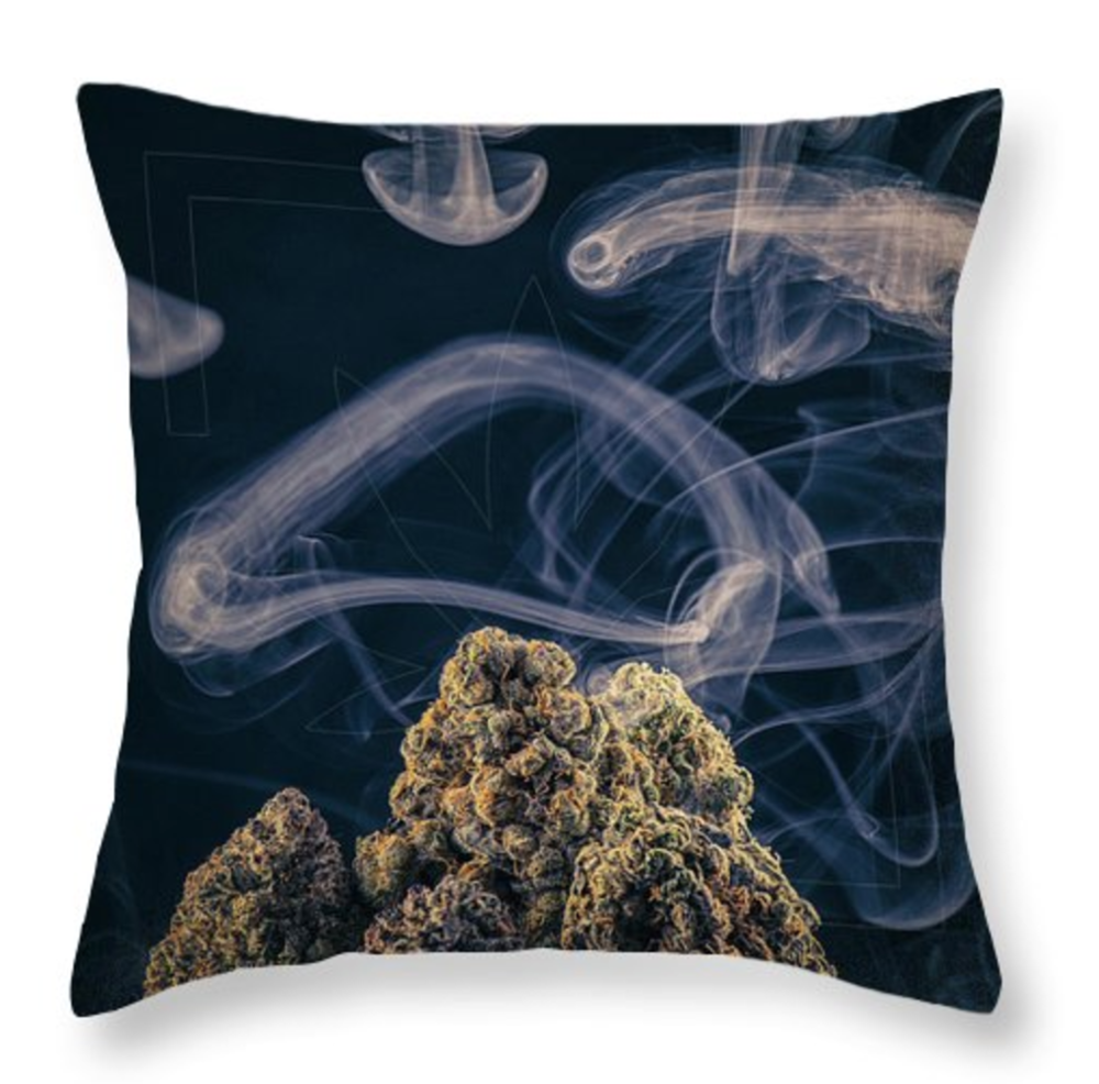 Kush Mountain Pillow  /  $35