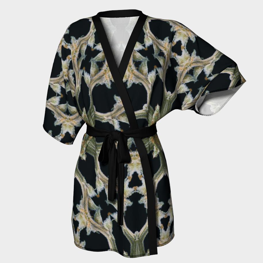 Stems & Calyxes Kimono Robe/ $90