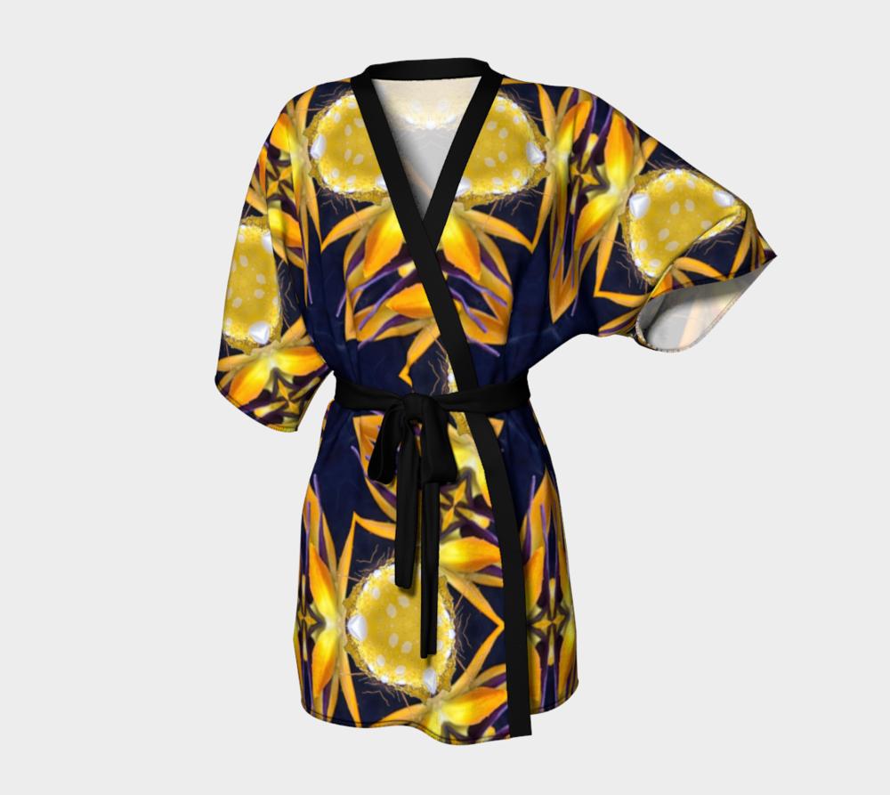 Paradise Shatter Kimono Robe / $90