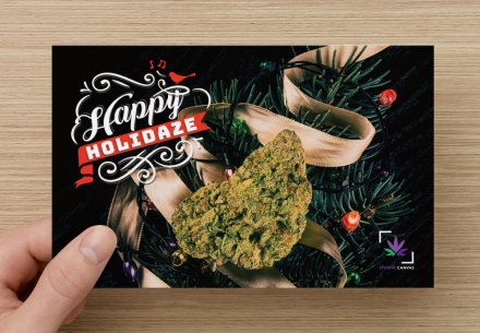 Happy Holidaze Folded Card