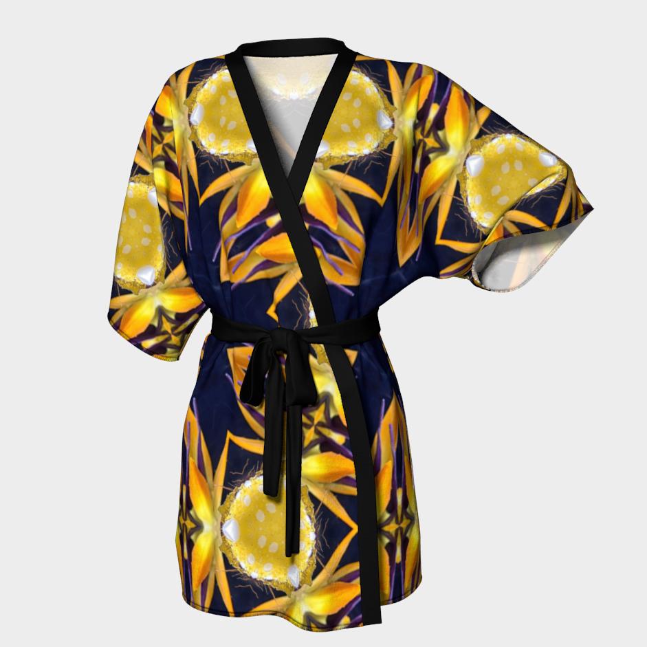 Paradise Shatter Kimono / $90