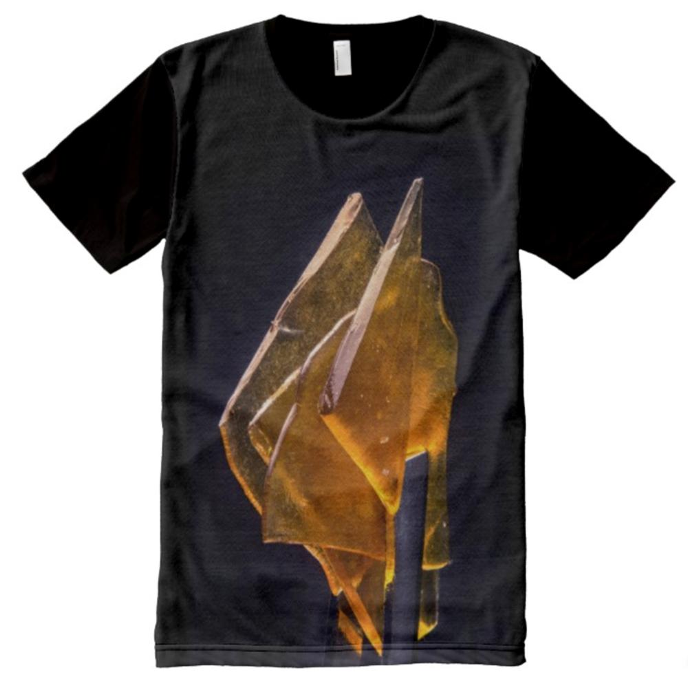 Tweezing Fire Men Panel T-shirt / $65