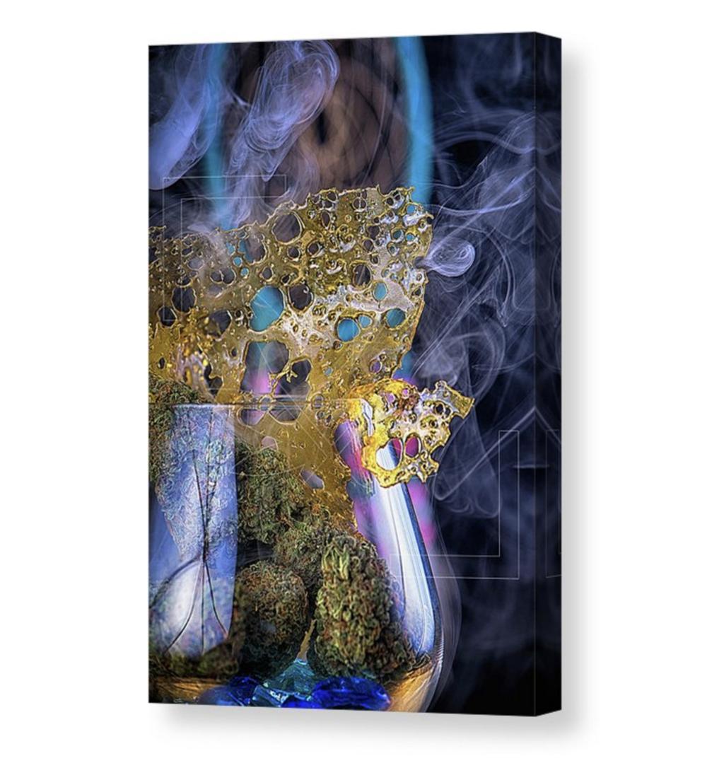 """""""Blue Dream"""" Canvas / $125 - $250"""