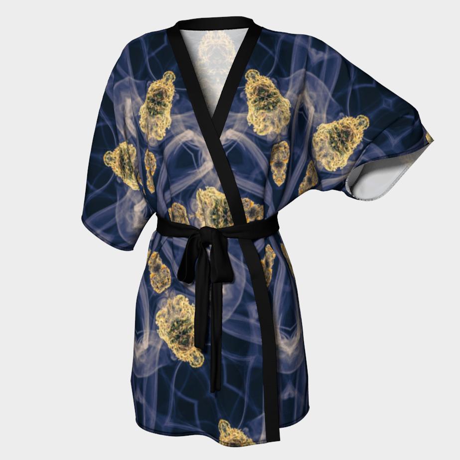 Smoky Buds Kimono Robe/ $90