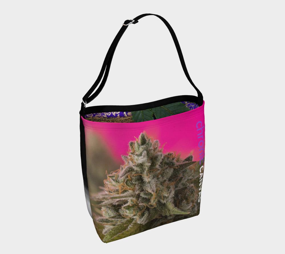 Pink Puff Bag