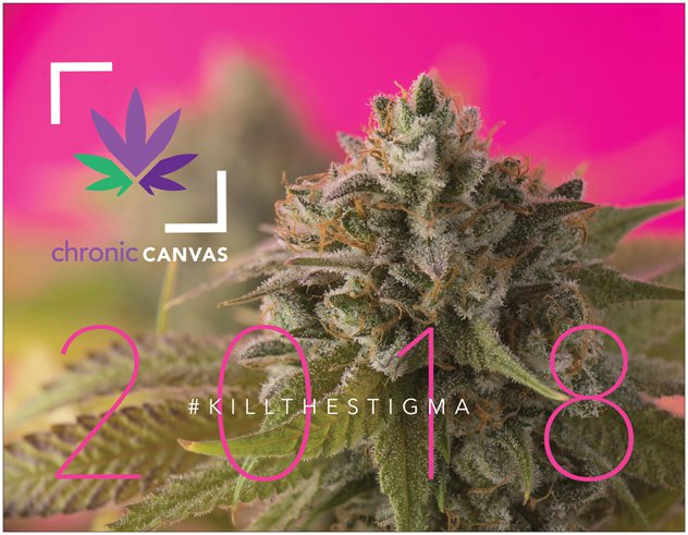 Chronic Canvas Calendar 2018