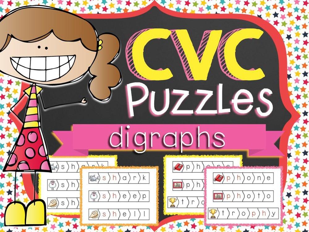 CVC Puzzles Digraphs