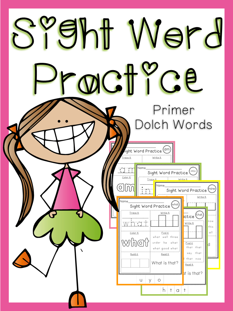 Sight Word Practice Primer