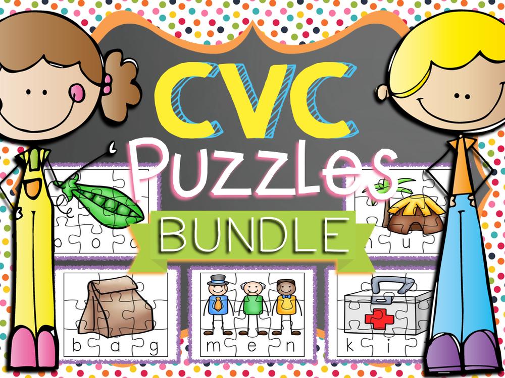 CVC Puzzles Bundle