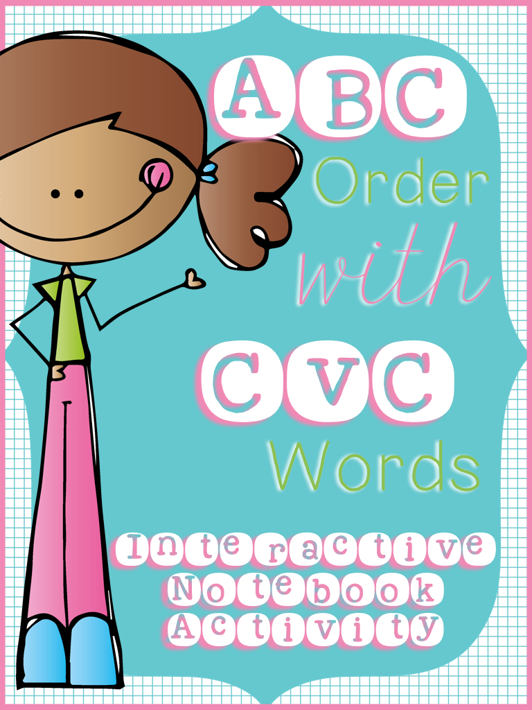 ABC Order With CVC Words