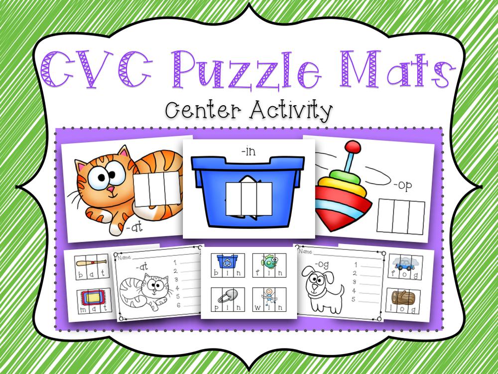 CVC Puzzle Mats