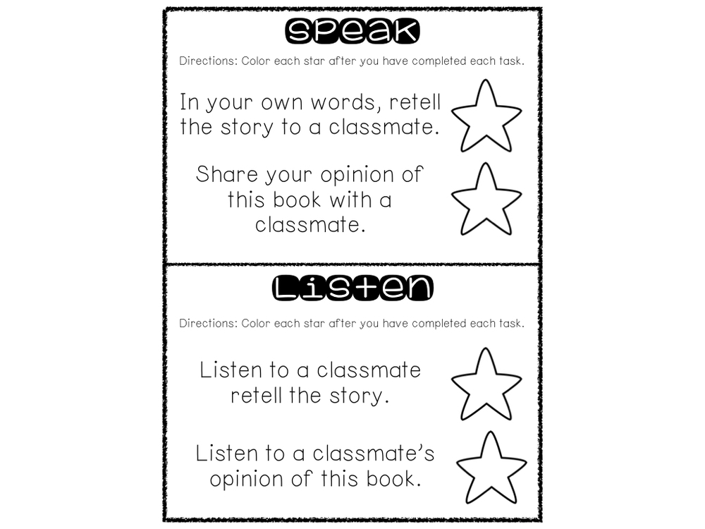 elements of a great book report Illustrate a scene or character from the book on a t-shirt • write a short summary  of the scene and explain why it is important to the story if you  to the book •  include all elements of a friendly letter (date, greeting, body, closing, & signature.