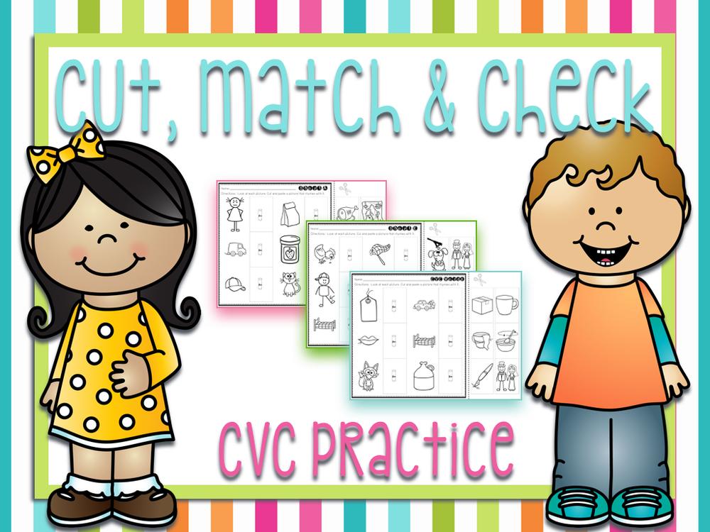 Cut, Match & Check BUNDLE