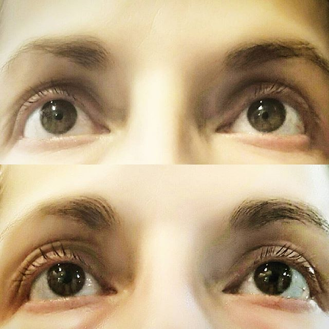 After using Las Boost for 2 weeks,  the results are in... #lashes #lashboost #rodanandfields