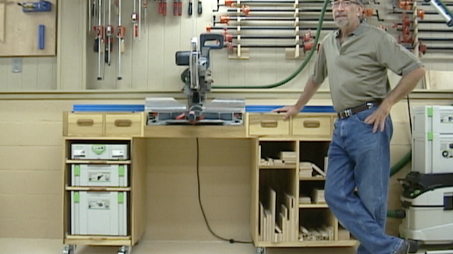 Miter Saw Workstation