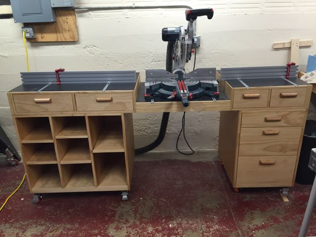 Herb Smith's Miter Saw Station