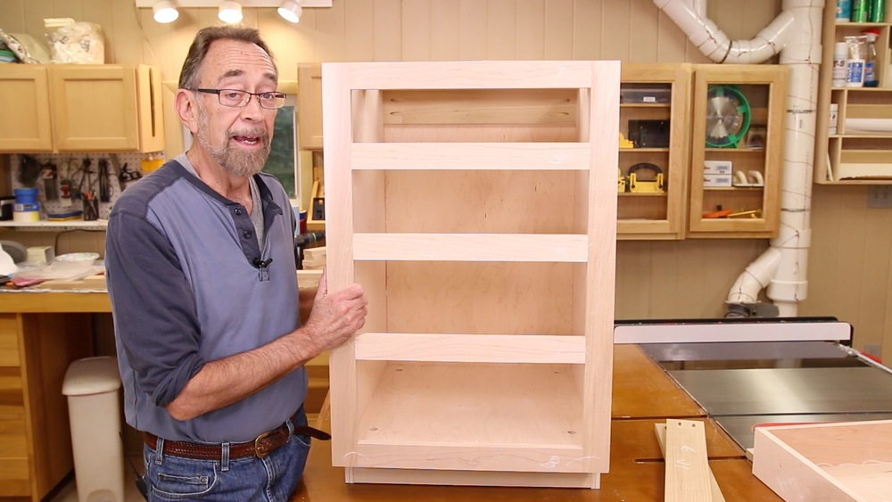 Down To Earth Woodworkingdown Woodworkingquick Kitchen Base Cabinets Woodworking