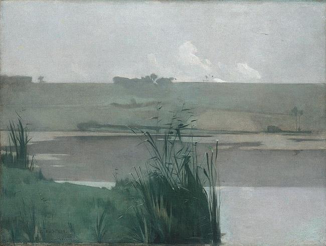 John Henry Twachtman,  Arques-la-Bataille , Metropolitan Museum of Art, New York, NY