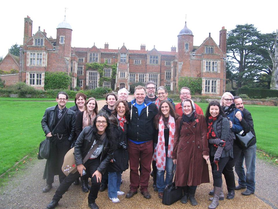 Our last field trip: Camp Vincent at Kentwell Hall