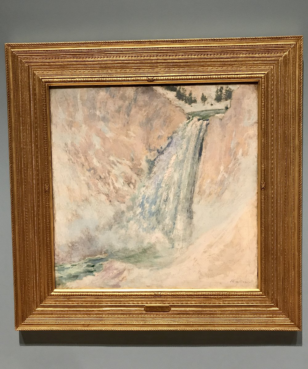 John Henry Twachtman, Lower Yosemite Falls
