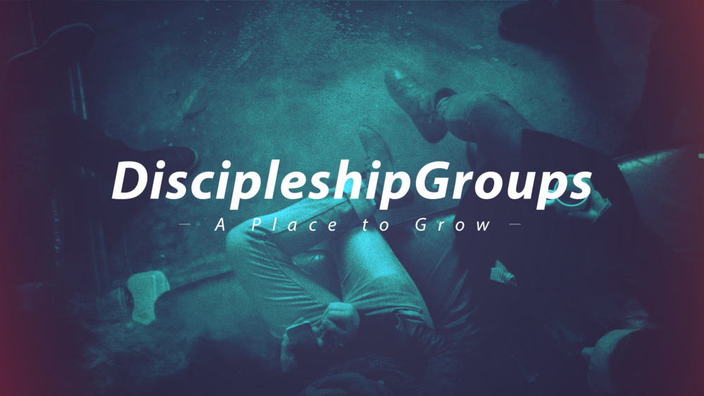 Discipleship Groups - Are you looking to go deeper into Scripture and learn more?  Check out our Discipleship Groups!  These are private groups of no more than 5 people that meet once a week to really dig into spiritual growth.  A Discipleship group meets for 10 weeks.  If you want to learn more about joining one, click below!