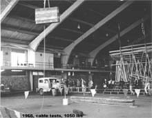 1966 - RMRG Cable Testing @ CU Balch Field House