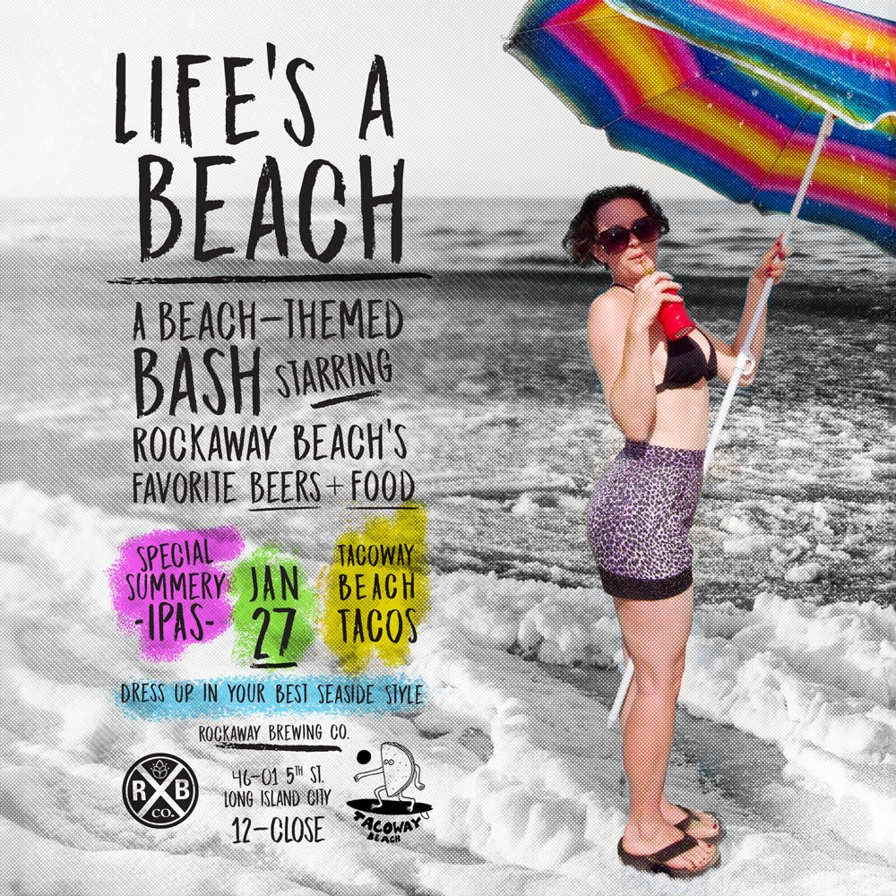 Life's a Beach - Event Graphic
