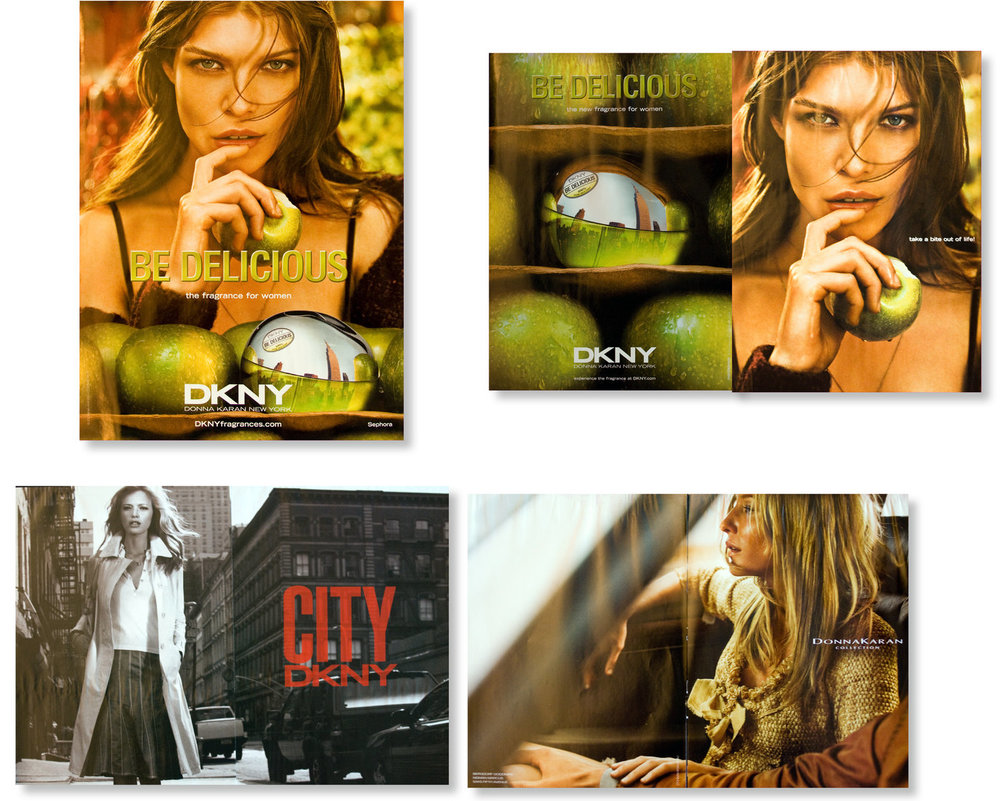 Various DKNY and Donna Karan campaigns