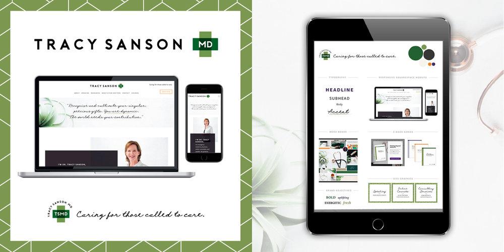 - brand & site design