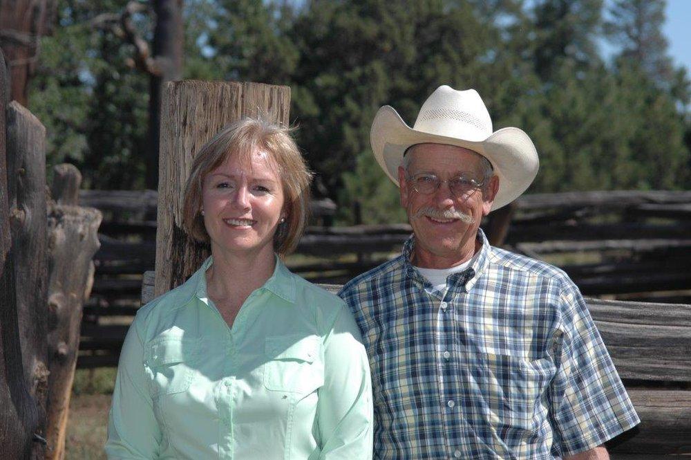 Judy and Bob Prosser  (Credit: Julie Murphree, AZ Farm Bureau)