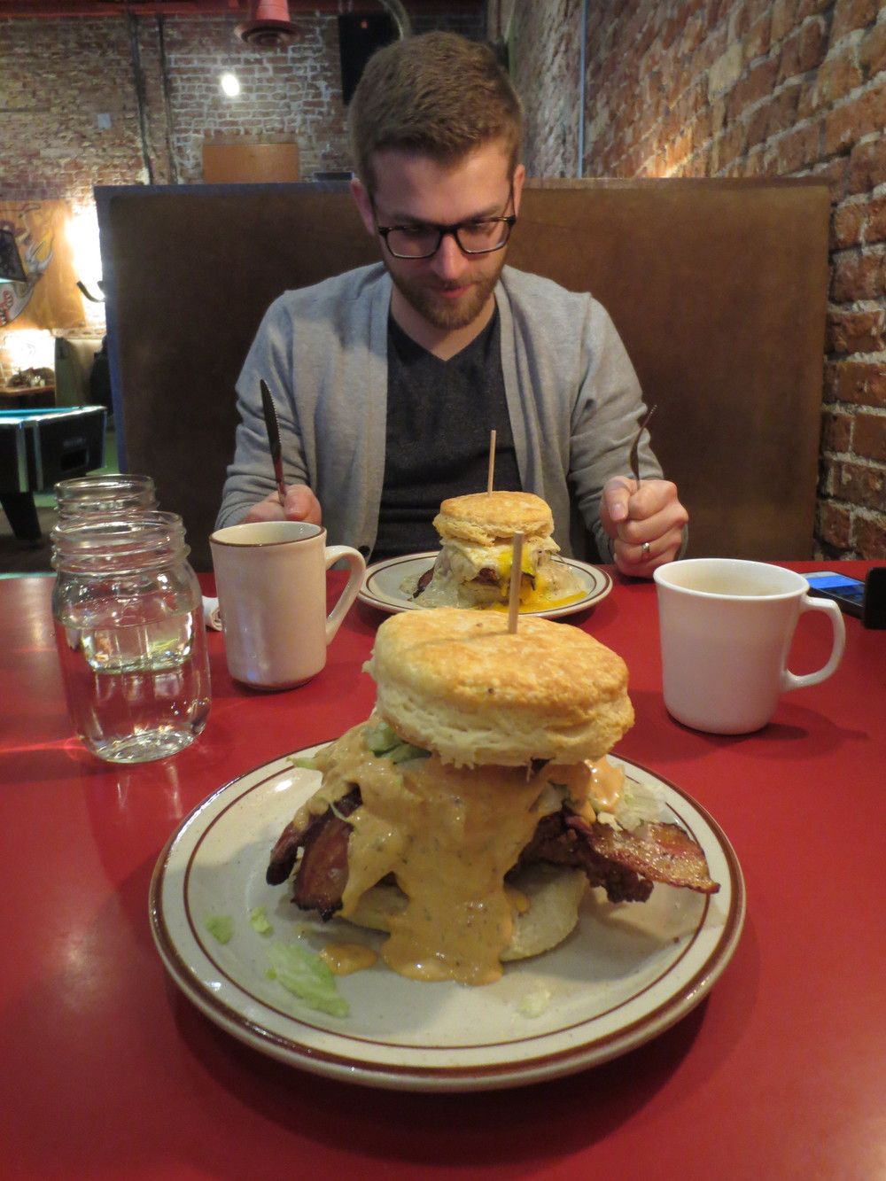 This picture has absolutely no relevance to this post other than fact that I needed to tell all of you that Denver Biscuit Company is incredible and someone in our NETWORK (there it is) recommended it to us.