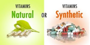 Comparison Chart of Life Choice® Next Generation B-Complex (plant-based) and a Common Synthetic B Vitamins.
