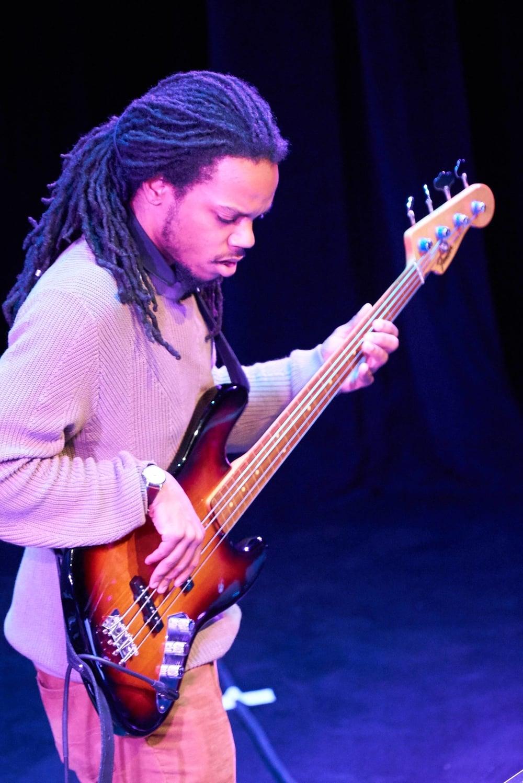 Tyrone Allen II (bass/efx) - GIGANTOSAURUS REX BAND
