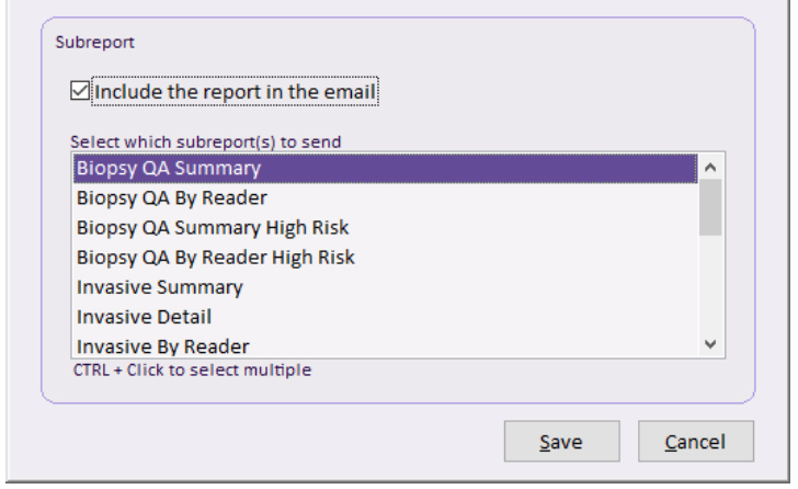 Email Reports - With more and more reports now running on the console either scheduled or on an ad–hoc basis, we felt that we needed a way to alert users when they have been completed. MagView Luminary offers the ability to email an alert or the report itself to a list of users when they finish running.