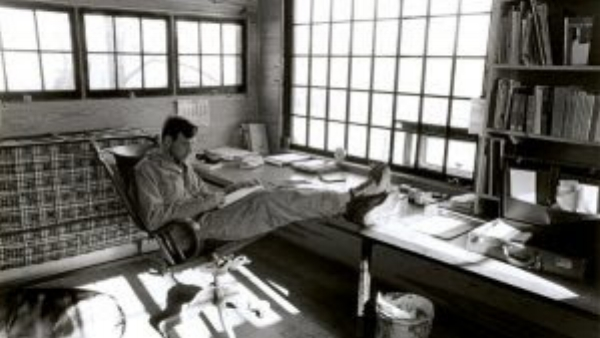 Wendell Berry's studio