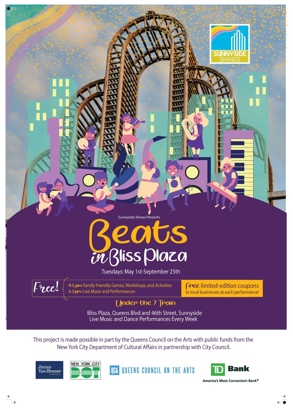 "Beats in Bliss - Poster 23"" x 33"".jpg"