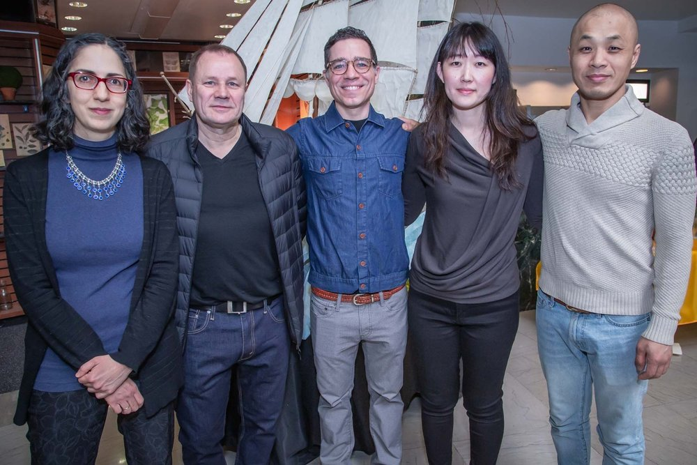 2019 ArtPort Artists ( left to right): Linda Ganjian, Holger Keifel, Davi Leventhal, Natsuki Takauji & Haksul Lee. Photo: Conrad Barclay, Credit PANYNJ