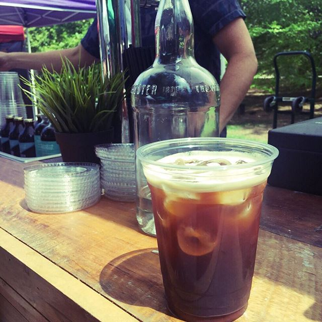 Looking forward to Sunday and the Grant Park Farmers Market with our friends @wanderlustATL ... #wanderlustcoldbrew #communityfarmersmarket #atlanta