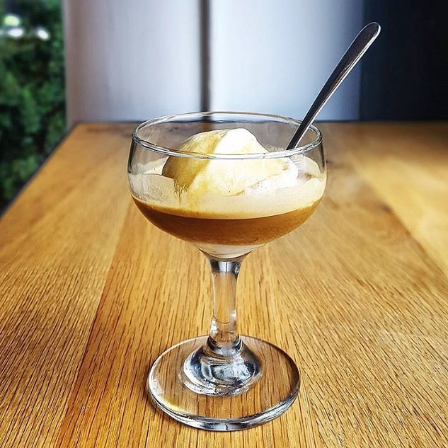 It's affogato season! And we're serving them up at our @octaneatv shop    espresso over housemade ice cream #yummmm #octanecoffee #affogato #espresso #atlantatechvillage #buckheadatlanta