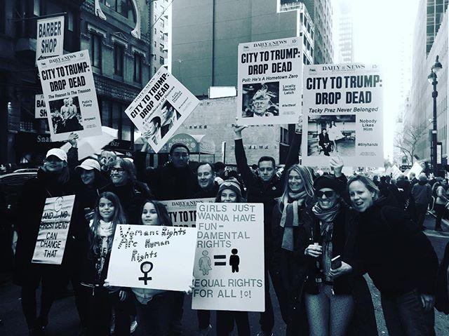 #womensmarchnyc