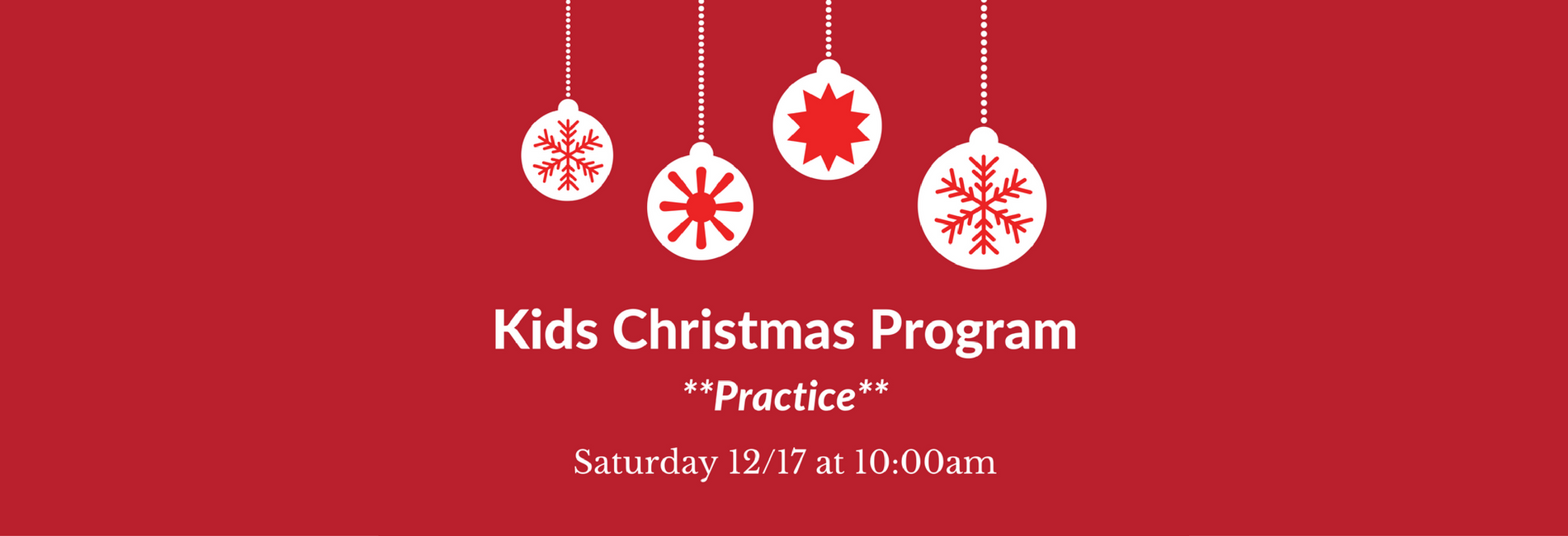 Practice for Kids Christmas Program — LHCnj.net
