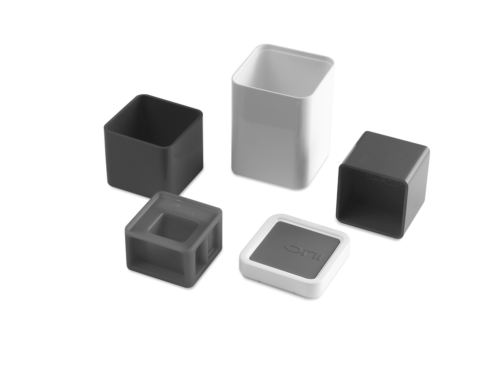 ALL-IN-1 Orii MEASURING CUP & SPOON BLOCK SET    CHARCOAL GRAY