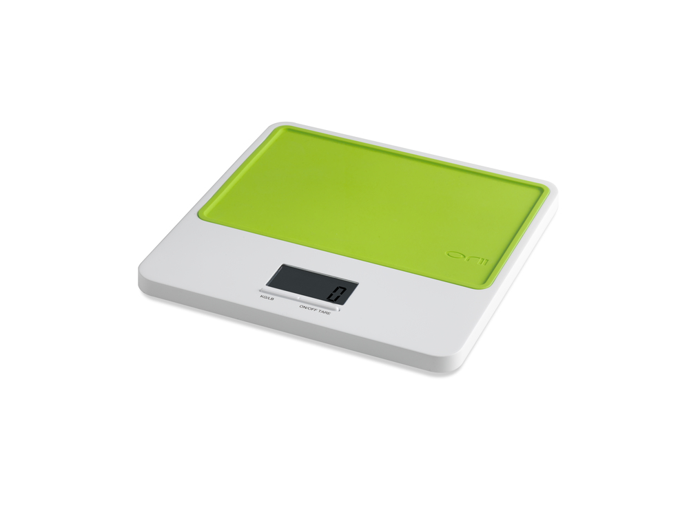 Orii MONO SLIM KITCHEN SCALE    VIBRANT GREEN
