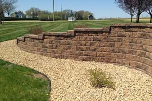 Click for Groundworks' long-lasting retaining walls