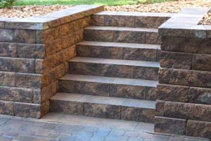 See the craftsmanship in the steps and stairs built by Groundworks
