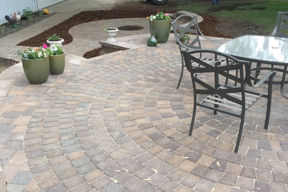 Beautiful Two Tier Patio