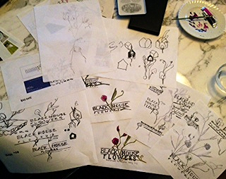 Sketches of possible logos...