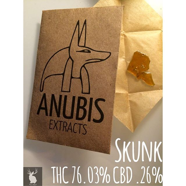 Some Skunk by @anubis_extracts is sure to have you floating above these clouds! #nvmed #nvpdx #ommp #anubisextracts #staylifted
