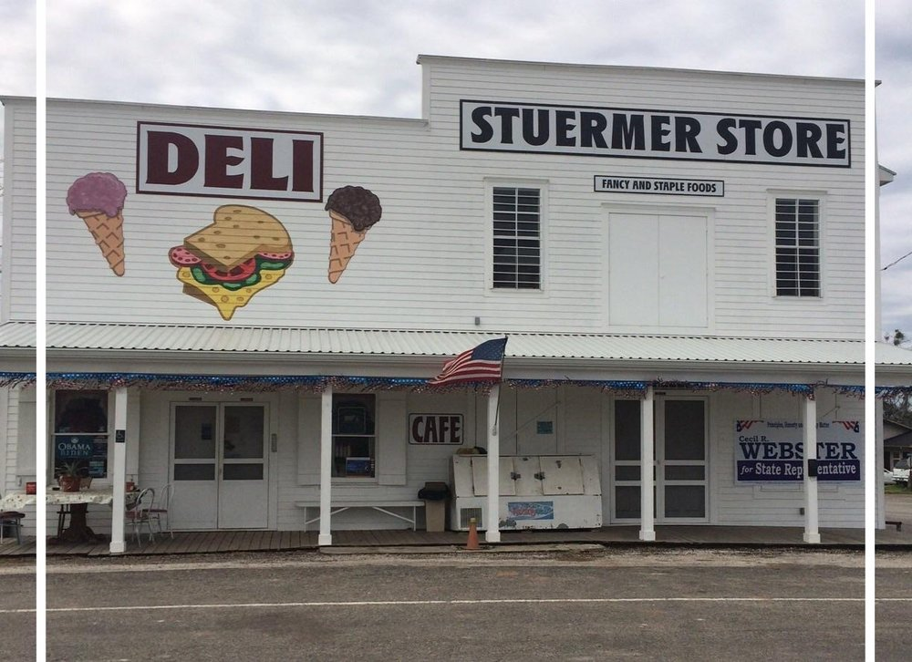 STUERMER STORE - Christine Jervis Breakfast & Lunch - Burgers & Sandwiches100 E US Hwy 290 at FM 1291Ledbetter, TX 78946979-249-5642CCC Member - 2017