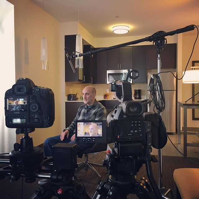 Interview #threeonecreative #documentaryfilm #interview #videointerview #videoproduction #canon #onset🎥🎬